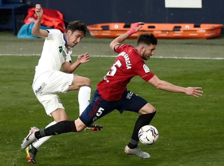 David García renovó con Osasuna. EFE