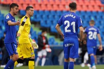 David Soria prefirió no valorar el penalti de Maksimovic. EFE