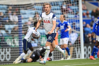 Kane consigue la Bota de Oro de la Premier con 23 goles. EFE/EPA/Mike Egerton