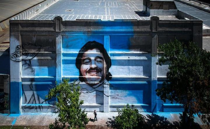 Giannina Maradona se opuso a las subastas de los objetos del '10'. EFE/Archivo