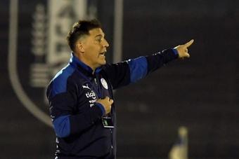 Berizzo analizó el debut en la Copa América ante Paraguay. EFe