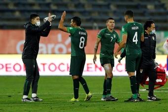 La plantilla de Bolivia dio negativo en la última prueba antes de medirse a Paraguay. EFE