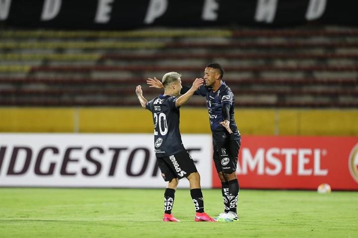 Cristian Ortiz se marcha de independiente del Valle. EFE