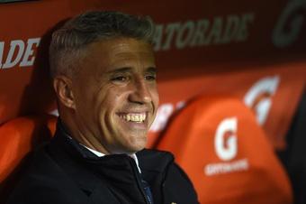 Crespo y su Sao Paulo quieren confirmar su buen momento ante Racing. EFE