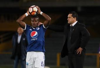 Felipe Román volverá a los terrenos de juego con millonarios. EFE