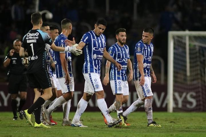 La Liga Argentina tiene siete líderes. EFE