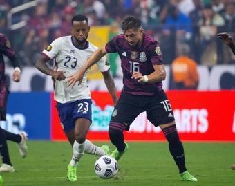 Héctor Herrera, el mejor de la Copa Oro. EFE