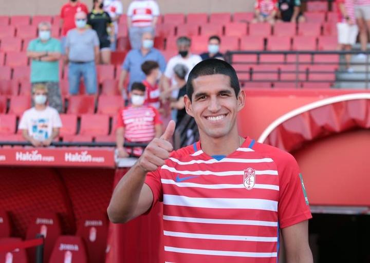 Jugar en Europa, un sueño hecho realidad para Luis Abram. EFE