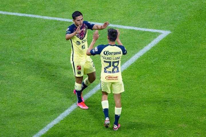 El América se impuso por 2-0 ante Puebla. EFE