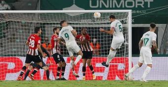 Verdú analizó el empate de la primera jornada. EFE
