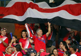 3.000 espectadores apoyarán a Costa Rica ante México y Jamaica. EFE