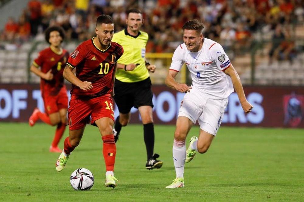 Bélgica se impuso por 3-0 ante República Checa. EFE
