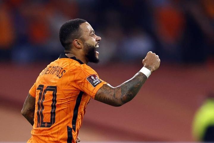 La 'Oranje' baila al ritmo de Memphis. EFE