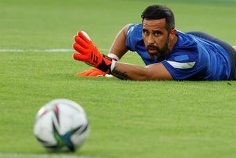 Bravo lamentó que Chile no jugara con Colombia como lo hizo contra Brasil. EFE