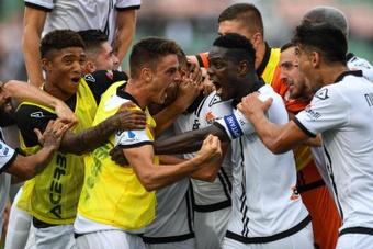El Spezia derrotó al Venezia a domicilio. EFE