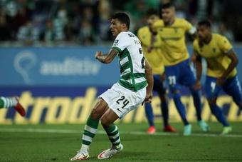 El Sporting de Portugal se impuso por 0-1 contra el Estoril. EFE