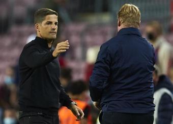 Robert Moreno quiere que el Granada se parezca a la Real Sociedad. EFE
