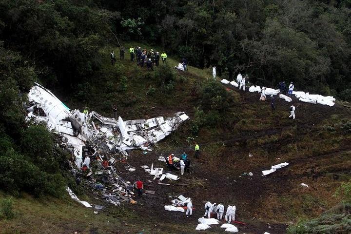 Detuvieron en Brasil a una boliviana investigada por el accidente de Chapecoense. EFE