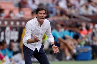Marcelino analizó el empate del Athletic. EFE