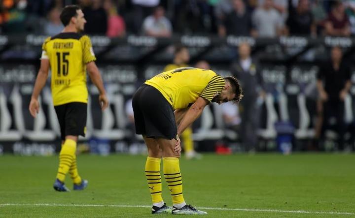 El Borussia cayó ante el 'Glabdach por 1-0. EFE
