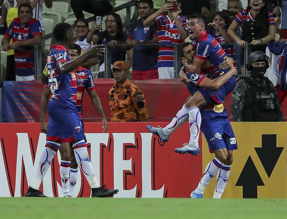 Fortaleza rompió su mala racha de tres derrotas seguidas. EFE