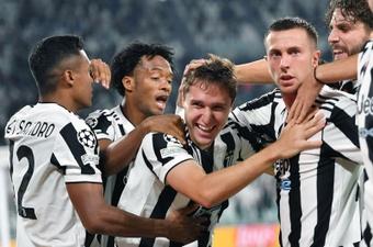 La Juve más italiana se ríe de la lógica ante el Chelsea. EFE