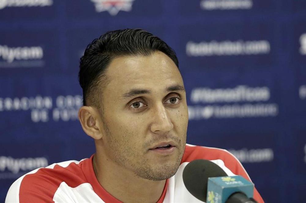 Keylor Navas y Joel Campbell encabezan la lista de convocados de Costa Rica. EFE