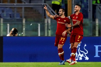 La Roma de Mourinho se marcha al parón en Champions. EFE