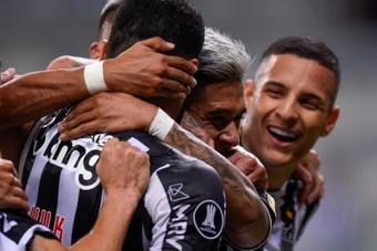 Atlético Mineiro continúa líder de la Série A. EFE
