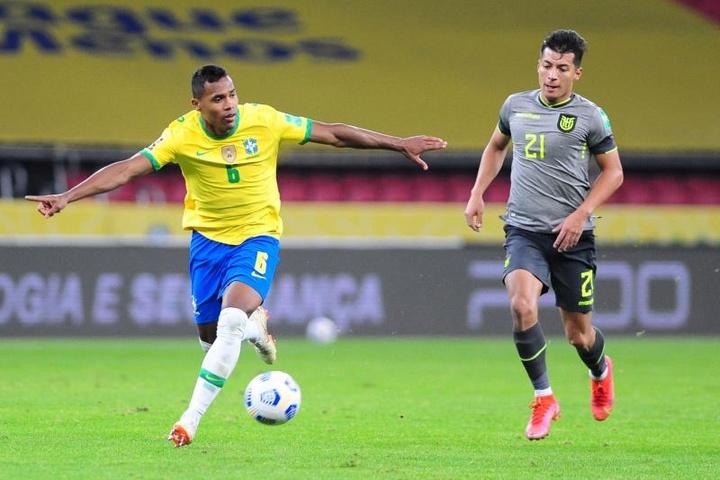 Alex Sandro, del respeto a Venezuela a la expectación por duelo con Argentina. EFE