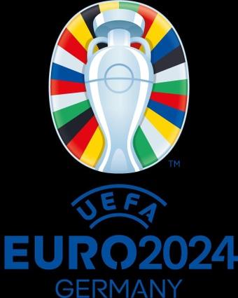 La UEFA presentó el logotipo de la Eurocopa de Alemania 2024. EFE