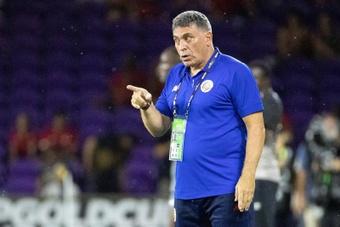 El seleccionador de Costa Rica pidió mejorar el ataque ante Honduras. EFE