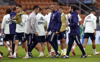 Pedro Porro se marchó lesionado. EFE/Archivo