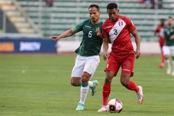 Marcos López analizó la derrota de Perú ante Bolivia (1-0). EFE