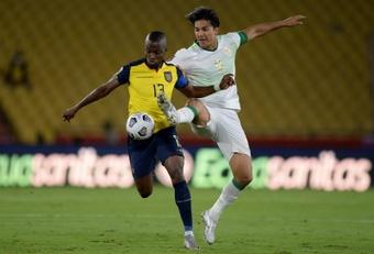 Enner Valencia afirmó que Ecuador sigue en la pelea por ir al Mundial. EFE
