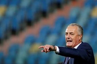 Alfaro analizó el choque ante Colombia. EFE