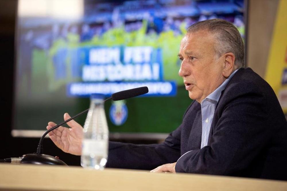 Roig espera que el Villarreal siga creciendo. EFE
