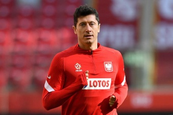 Nagelsmann pide el Balón de Oro para Lewandowski. EFE