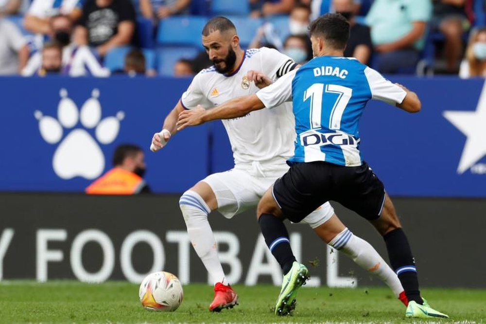El Espanyol se enfrenta al Cádiz en Liga. EFE