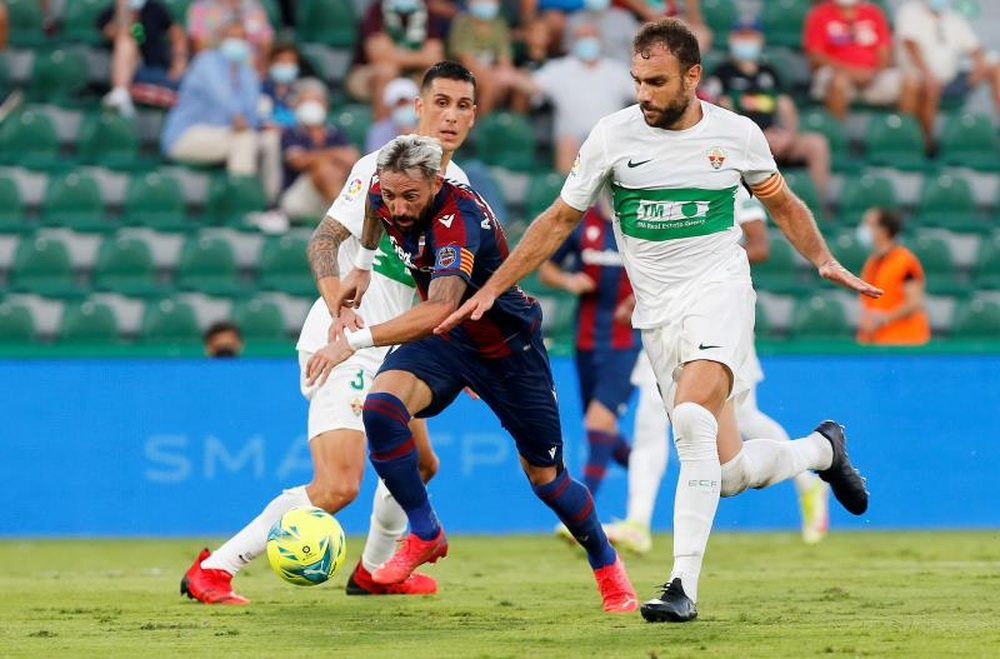 Gonzalo Verdú expresó que el partido contra el Rayo Vallecano será difícil. EFE