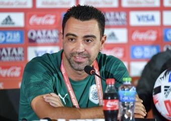 El Al Sadd de Xavi Hernández lidera la Liga Catarí con 15 puntos. EFE