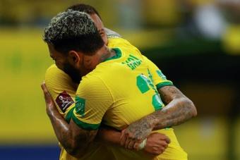 Brasil y Argentina se acercan aún más al Mundial en el fin de Berizzo como 'albirrojo'. EFE