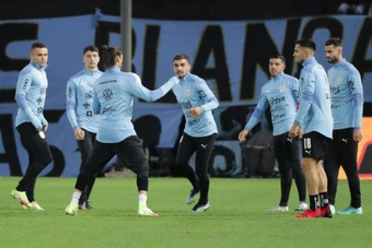 El Uruguay-Argentina, en el estadio Campeón del Siglo. EFE