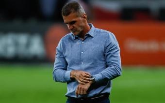 Gremio anunció a Vagner Mancini como recambio de Solari. EFE