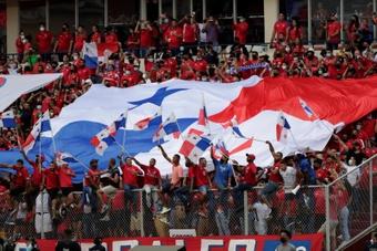 Se escucharon varios cantos homofóbicos durante dos partidos de Panamá en septiembre. EFE
