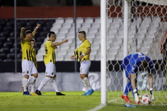 Guaraní lidera el Clausura con 22 puntos tras 11 jornadas. EFE/Archivo