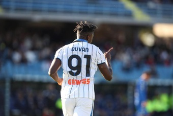 Zapata, primer colombiano en marcar 100 goles en la Serie A. EFE