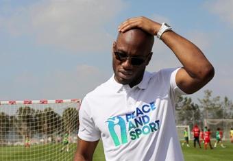La OMS apuesta por el ex jugador Drogba. EFE