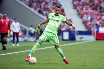 Álex Berenguer suma 52 partidos con el Athletic Club. EFE