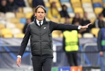 Inzaghi recordó la derrota ante el Madrid. EFE